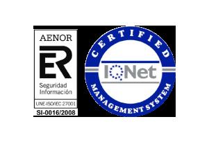 Presentys Certificación AENOR